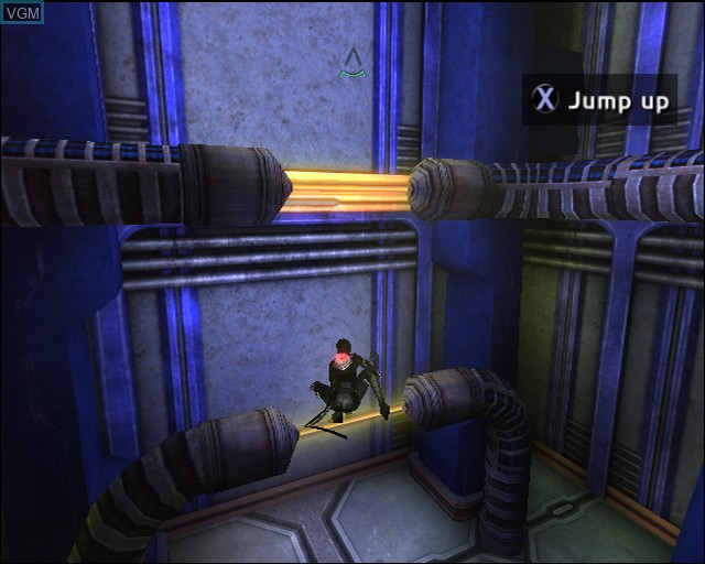 Image in-game du jeu Aeon Flux sur Sony Playstation 2