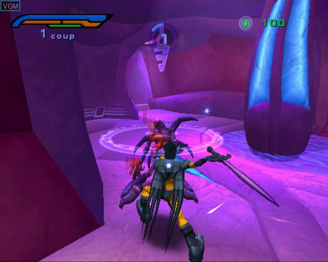 Image in-game du jeu Alter Echo sur Sony Playstation 2