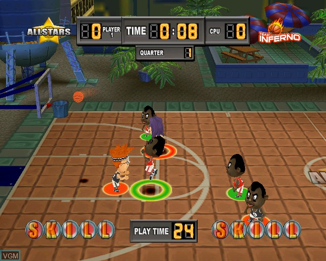 Image in-game du jeu Kidz Sports Basketball sur Sony Playstation 2