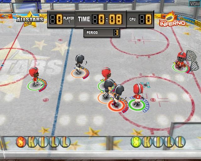 Image in-game du jeu Kidz Sports Ice Hockey sur Sony Playstation 2