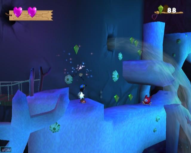 Image in-game du jeu Klonoa 2 - Lunatea's Veil sur Sony Playstation 2