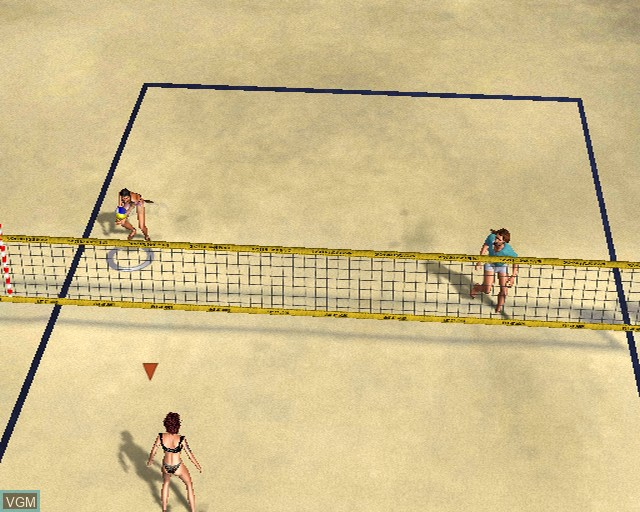 Image in-game du jeu Outlaw Volleyball Remixed sur Sony Playstation 2