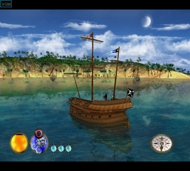 Image in-game du jeu Pirates - The Legend of Black Kat sur Sony Playstation 2