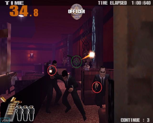 Image in-game du jeu Police 24/7 sur Sony Playstation 2