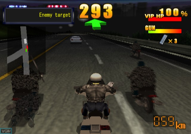 Image in-game du jeu Police Chase Down sur Sony Playstation 2