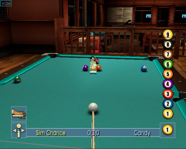 Image in-game du jeu Pool Shark 2 sur Sony Playstation 2