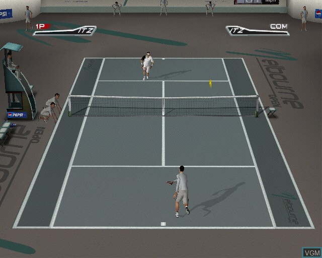 Image in-game du jeu Top Spin sur Sony Playstation 2