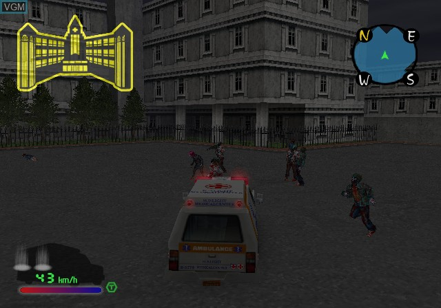 Image in-game du jeu Zombie Virus sur Sony Playstation 2