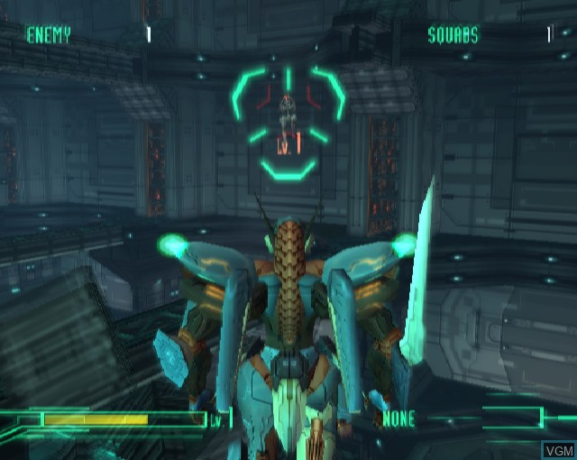 Image in-game du jeu Zone of the Enders sur Sony Playstation 2