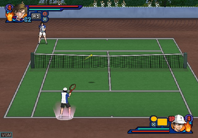 Image in-game du jeu Tennis no Oji-Sama - Smash Hit! 2 sur Sony Playstation 2