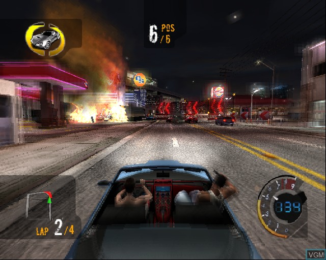 Image in-game du jeu 187 Ride or Die sur Sony Playstation 2