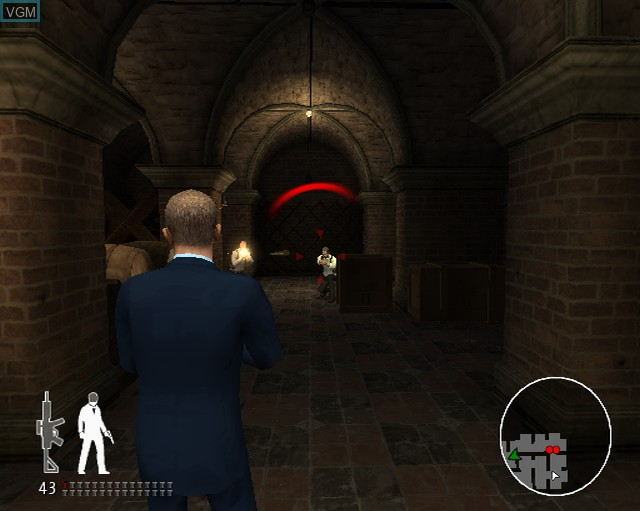 Image in-game du jeu 007 - Quantum of Solace sur Sony Playstation 2