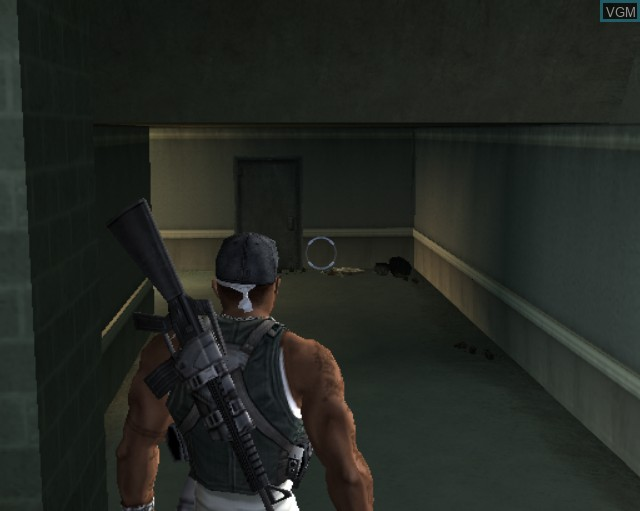 Image in-game du jeu 50 Cent - Bulletproof sur Sony Playstation 2