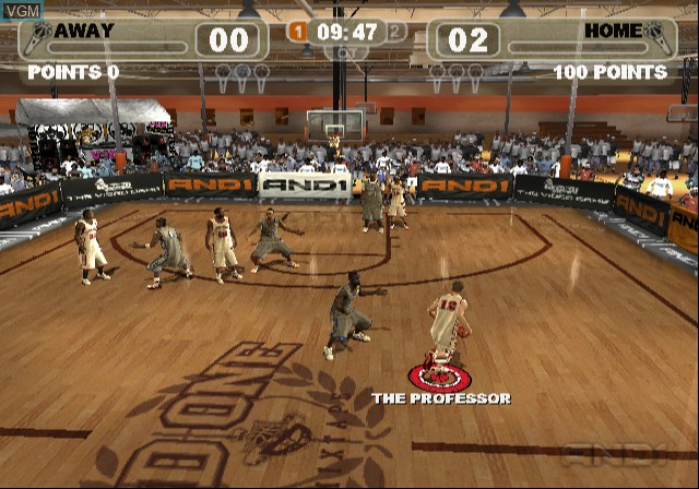 Image in-game du jeu And 1 Streetball sur Sony Playstation 2