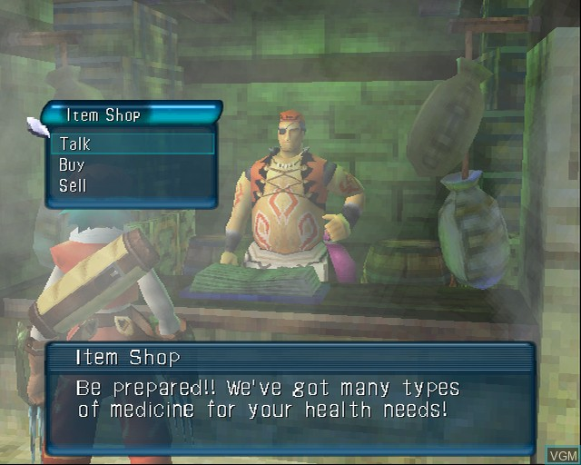 Image in-game du jeu .hack//Mutation Part 2 sur Sony Playstation 2