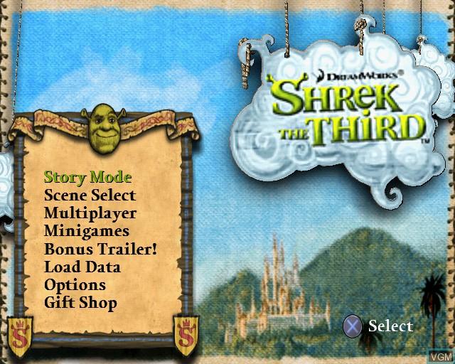 Image in-game du jeu Shrek SuperSlam sur Sony Playstation 2
