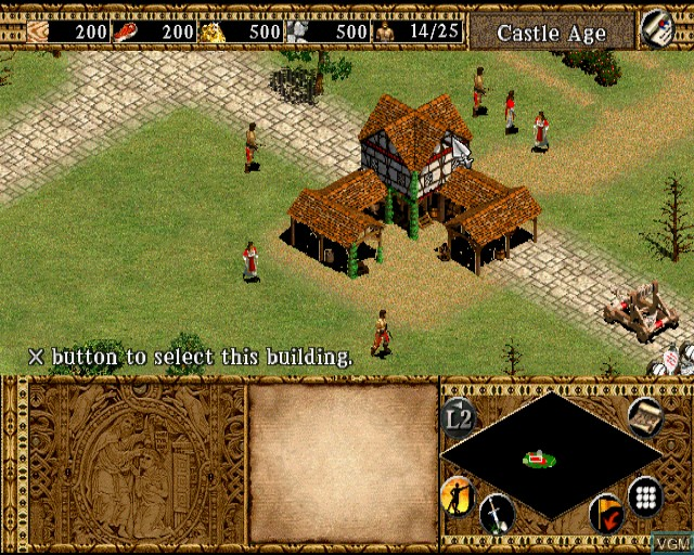 Image in-game du jeu Age of Empires II - The Age of Kings sur Sony Playstation 2