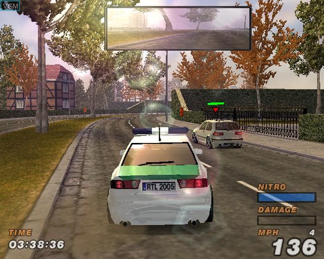 Image in-game du jeu Alarm for Cobra 11 Vol. 2 - Hot Pursuit sur Sony Playstation 2