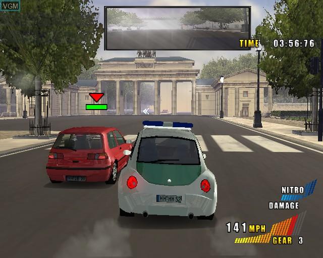 Image in-game du jeu Alarm for Cobra 11 Vol. 2 sur Sony Playstation 2
