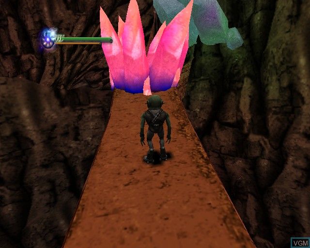 Image in-game du jeu Aliens in the Attic sur Sony Playstation 2