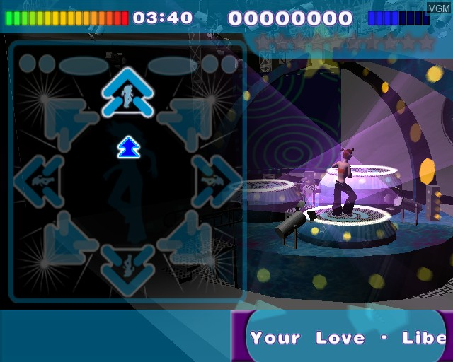 Image in-game du jeu All Music Dance sur Sony Playstation 2