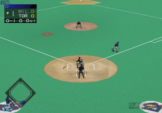 Image in-game du jeu All-Star Baseball 2003 sur Sony Playstation 2