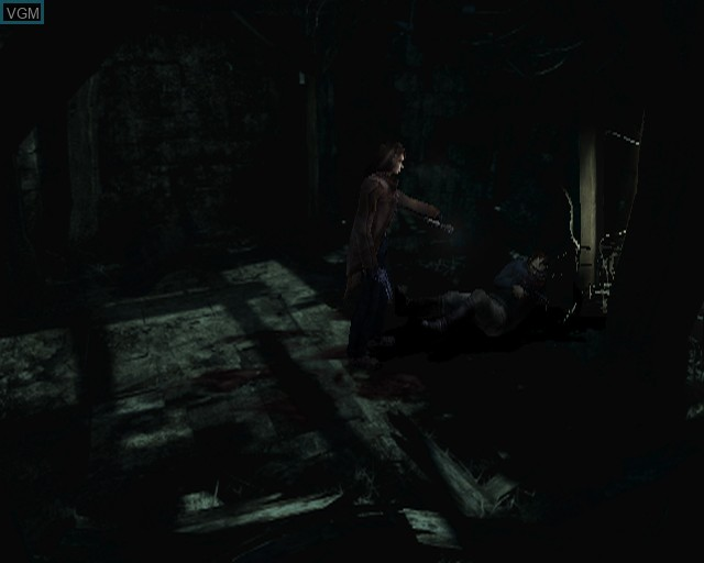 Image in-game du jeu Alone in the Dark sur Sony Playstation 2
