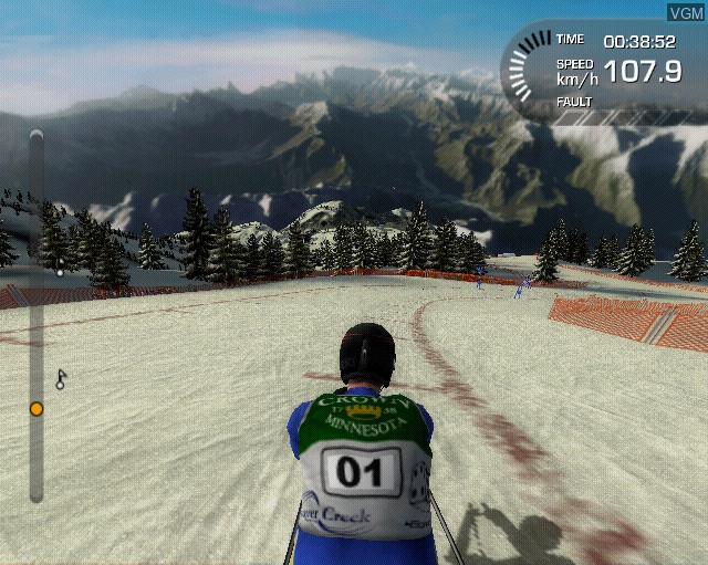 Image in-game du jeu Alpine Ski Racing 2007 sur Sony Playstation 2