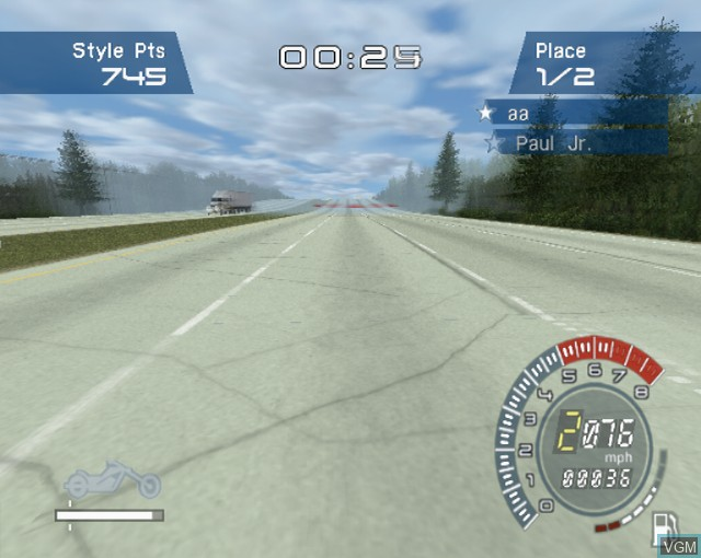 Image in-game du jeu American Chopper sur Sony Playstation 2