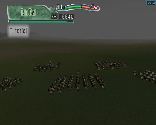 Image in-game du jeu Kessen II sur Sony Playstation 2