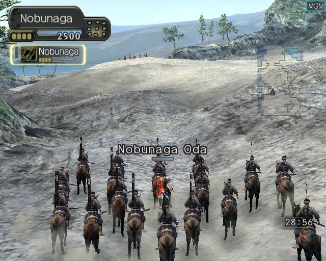 Image in-game du jeu Kessen III sur Sony Playstation 2
