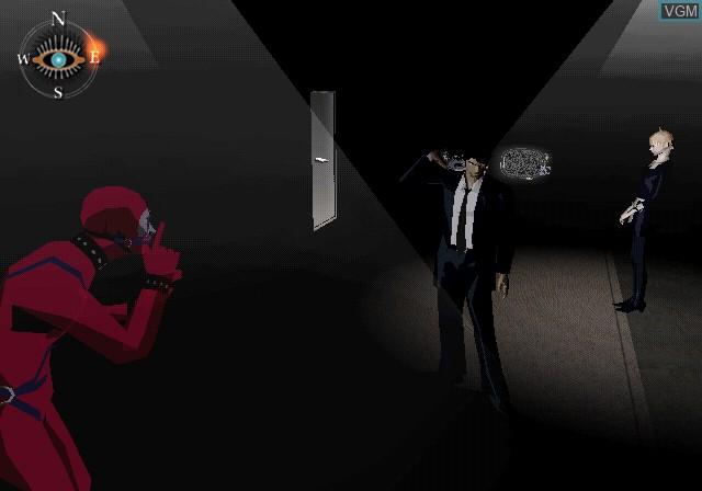 Image in-game du jeu Killer7 sur Sony Playstation 2
