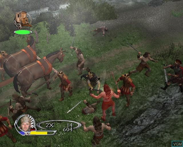Image in-game du jeu King Arthur sur Sony Playstation 2