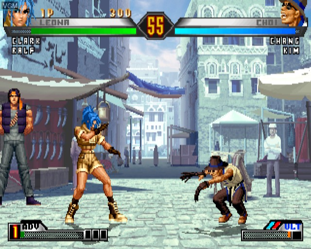 Image in-game du jeu King of Fighters '98 Ultimate Match, The sur Sony Playstation 2