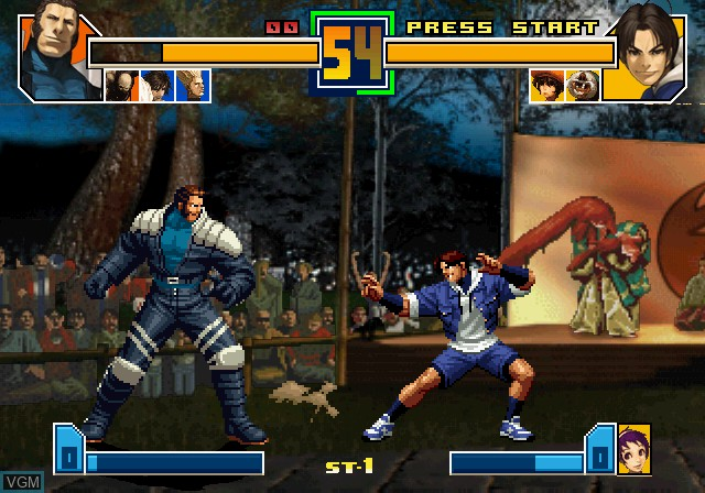 Image in-game du jeu King of Fighters 2000-2001, The - The Saga Continues sur Sony Playstation 2