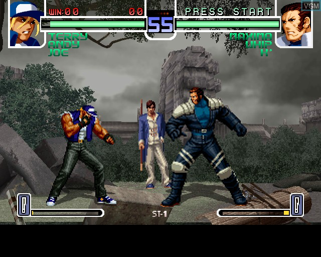 Image in-game du jeu King of Fighters 2002, The sur Sony Playstation 2