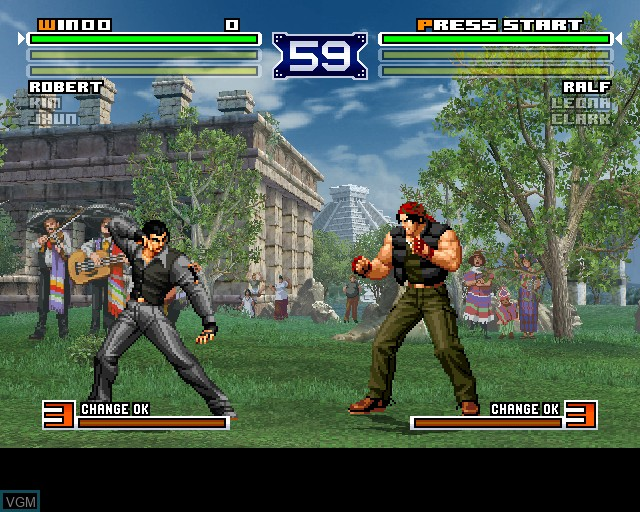 Image in-game du jeu King of Fighters 2003, The sur Sony Playstation 2