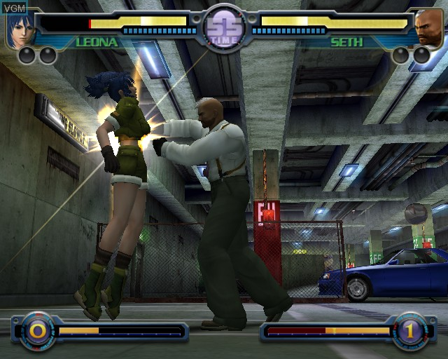 Image in-game du jeu King of Fighters - Maximum Impact sur Sony Playstation 2