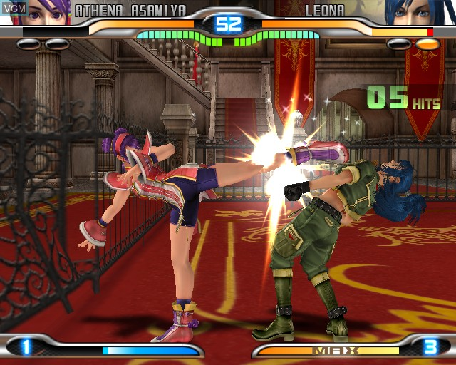 Image in-game du jeu King of Fighters - Maximum Impact 2 sur Sony Playstation 2