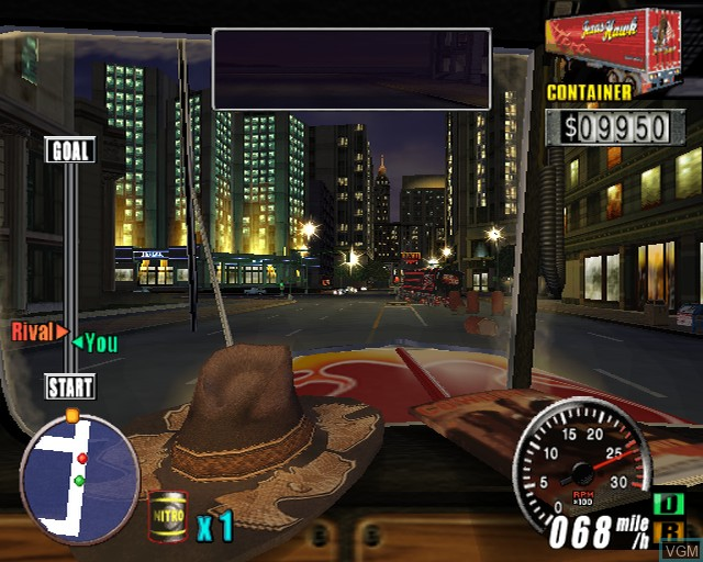 Image in-game du jeu King of Route 66, The sur Sony Playstation 2