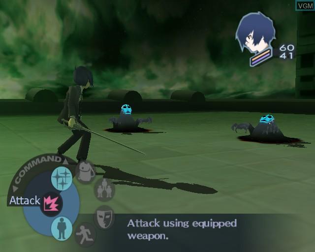 Image in-game du jeu Shin Megami Tensei - Persona 3 sur Sony Playstation 2