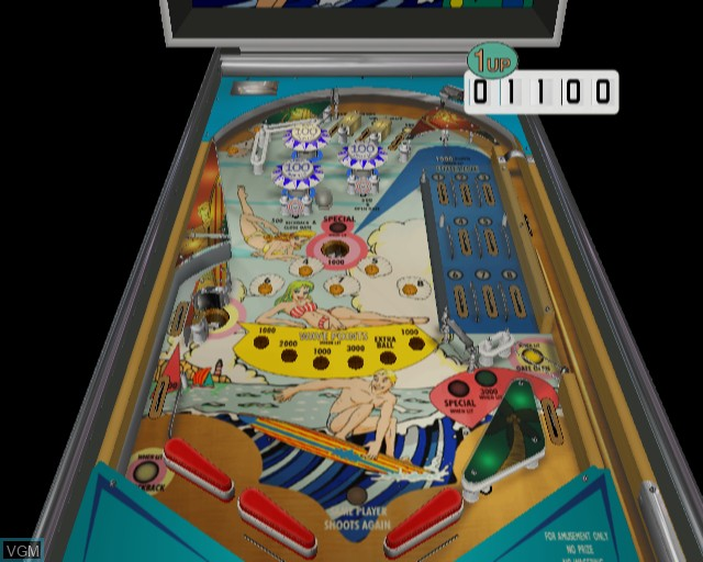 Image in-game du jeu Pinball sur Sony Playstation 2