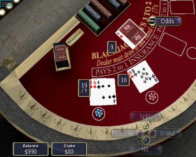 Image in-game du jeu Playwize Poker & Casino sur Sony Playstation 2