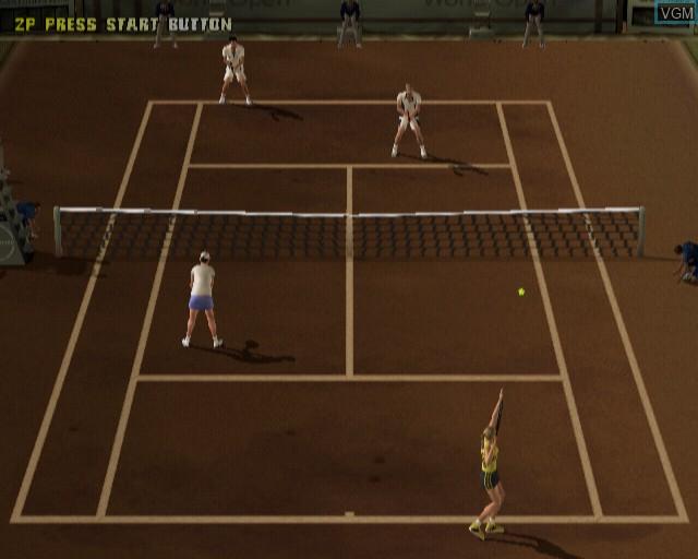 Image in-game du jeu Smash Court Tennis Pro Tournament sur Sony Playstation 2