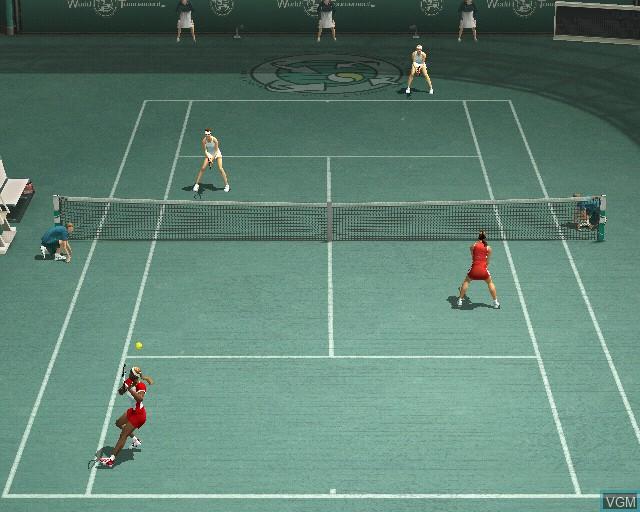 Image in-game du jeu Smash Court Tennis Pro Tournament 2 sur Sony Playstation 2