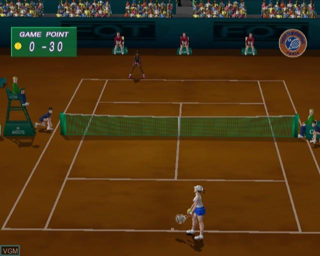 Image in-game du jeu WTA Tour Tennis sur Sony Playstation 2