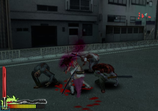 Image in-game du jeu Zombie Zone - Other Side sur Sony Playstation 2