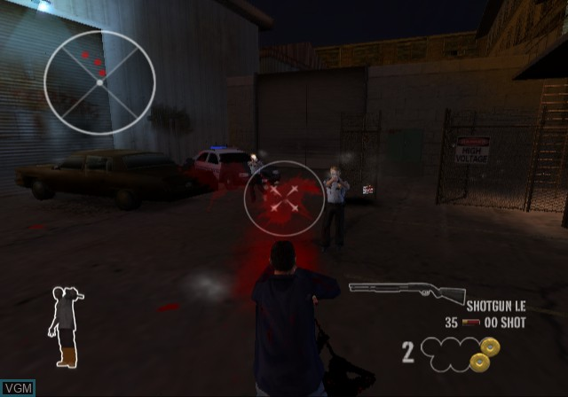 Image in-game du jeu 25 to Life sur Sony Playstation 2