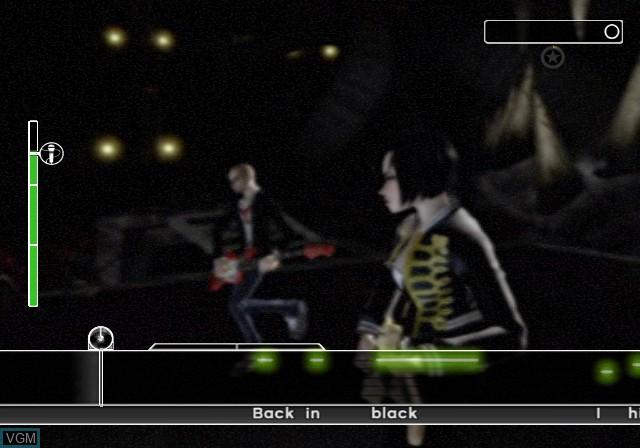 Image in-game du jeu AC/DC LIVE - Rock Band Track Pack sur Sony Playstation 2