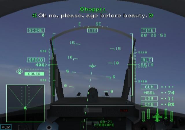 Image in-game du jeu Ace Combat 5 - The Unsung War sur Sony Playstation 2